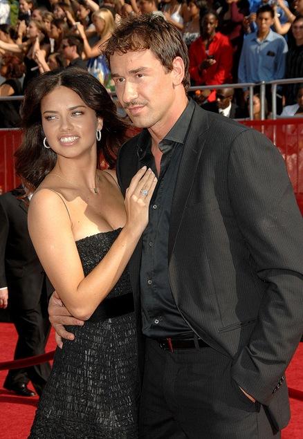 Adriana lima y esposo