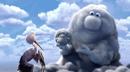 """""""Parcialmente nublado"""" de Pixar"""