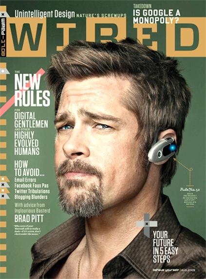 Brad Pitt Wired
