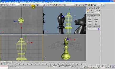 Modelar piezas de ajedrez en 3d studio max nestavista for Modelar habitacion 3d max