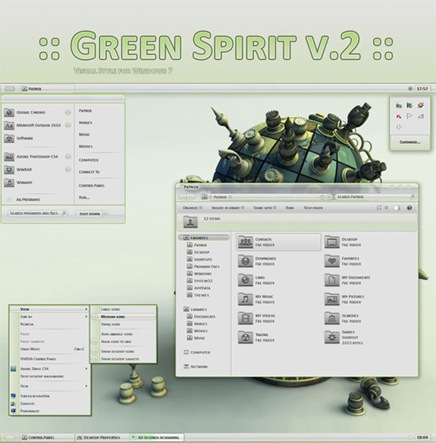 green-spirit-visual-style