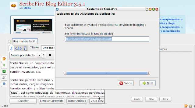 blogger ScribeFire