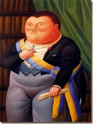 Índice de biografías - Fernando Botero - El Presidente 02