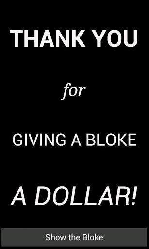 Give A Bloke A Dollar