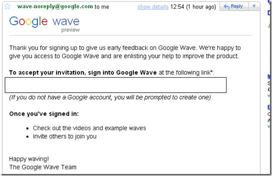 Google Wave to blog
