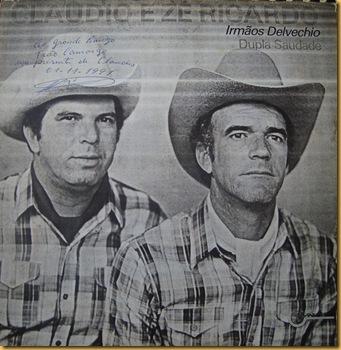 Cláudio e Zé Ricardo - Capa