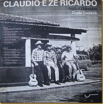 Cláudio e Zé Ricardo - Verso