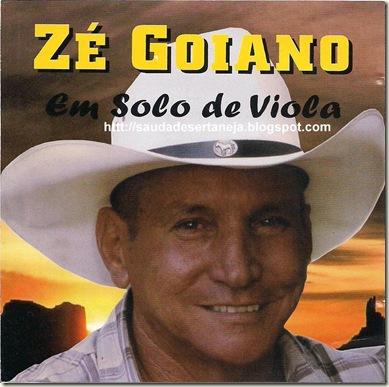 Zé Goiano - Capa