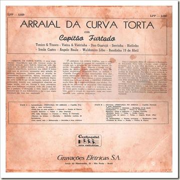 Contracapa (1958 - Capitão Furtado - Arraial da Curva Torta)1