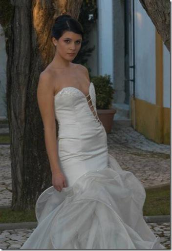 Vestidos de noiva de Cristina Lopes vestido para casamento noivas diferentes 2010 Estilistas criadores moda Portugueses 2011 design casar Portugal