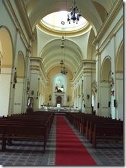 Interior Iglesia de las Cruces