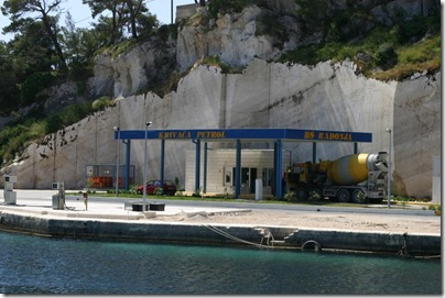 Croatia Cruising Companion - Fuel Station Sumartin, Brac