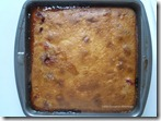 Sour cherry tree cake