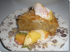 country apple cake fruit