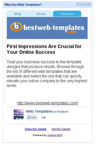 Why Use Web Templates