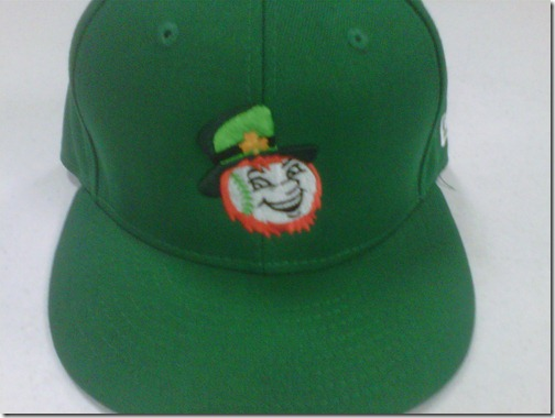 Green Mr. Met Hat