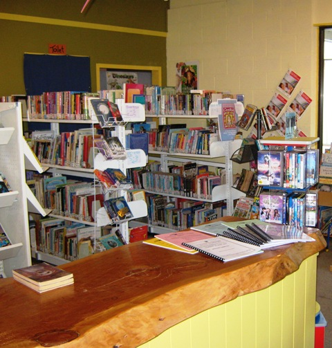 Temporary premises of Waipawa Library