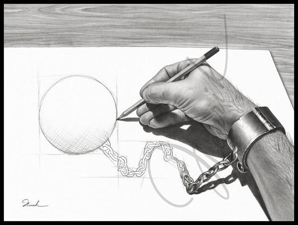 Imagination and Creativity with Pencil Sketching