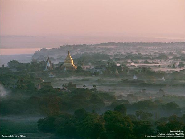 National Geographic - May 2006 - Irrawaddy River - Photograph by Steve Winter