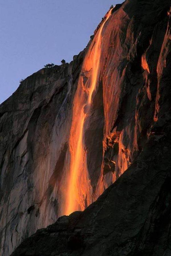 Yosemite National Park Lavafall