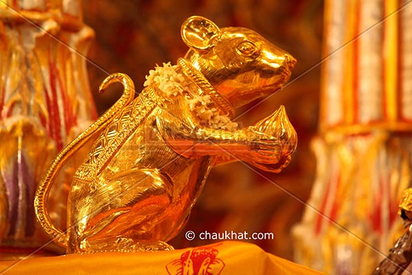 Mouse of Dagdusheth Ganpati