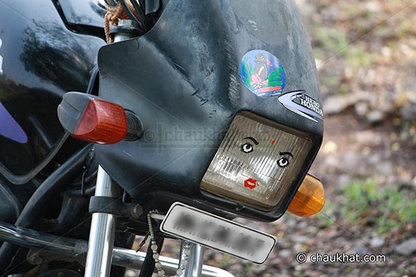 Lady Motorbike
