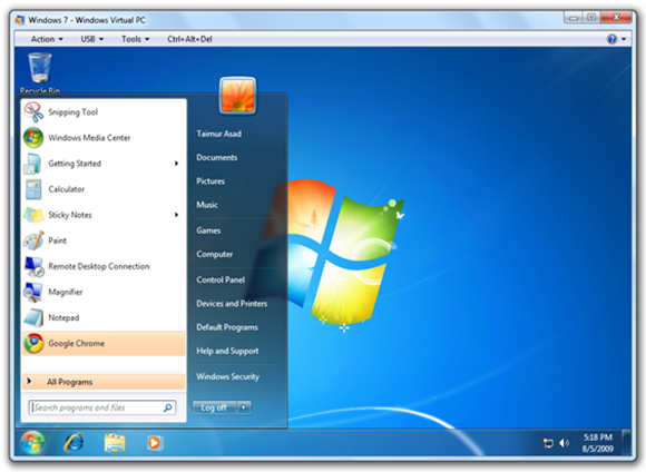 free machine for windows 7