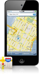 mapas  ipod touch 4G IOS 4.2