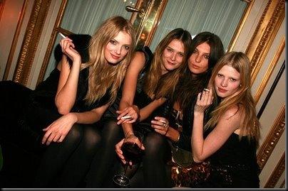 models smoking