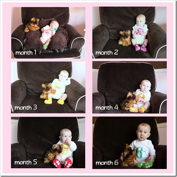 Caitlin - Month 1 to 6