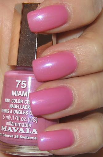 Pink Nail Polish. PINK NAIL POLISH