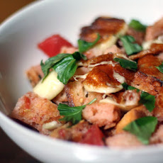 Grilled Cheese Curd Panzanella