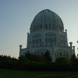 The Bahai Temple.  Just one of the many amazing building in Chicago.
