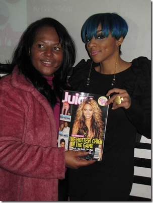 Editor-in-Chief Paula T. Renfroe and Cheri Dennis at the Yagolicious Beauty Affair