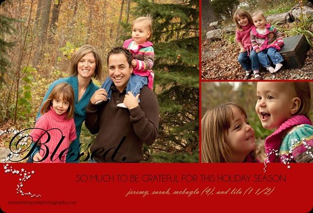 Jeremy & Sarah Christmas Card  front final copy