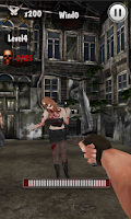 Screenshot of Knife King-Zombie War 3D HD
