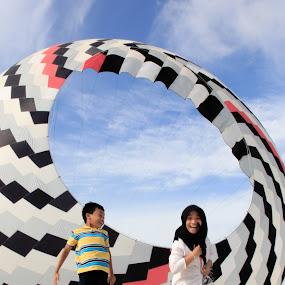 Happy jump..... by Esyam Din - Babies & Children Children Candids (  )