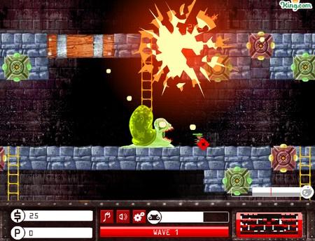 jogo trap master defender game monstro homenzinhos