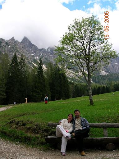 Alpe Dolomiti, em Domegge di Cadore, na Itália