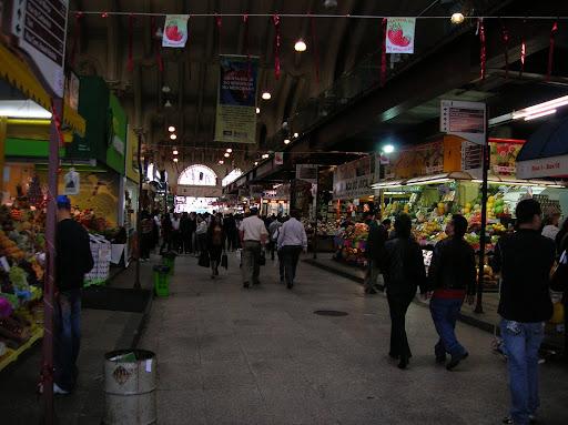 Boxes no Mercado Municipal de São Paulo