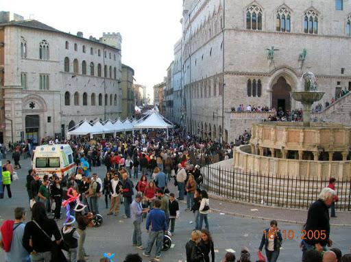 Eurochocolate 2005, em Perugia