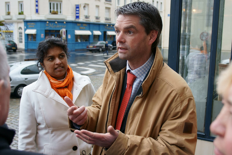 Rodolphe Thomas rejoint l'association des maires de banlieue