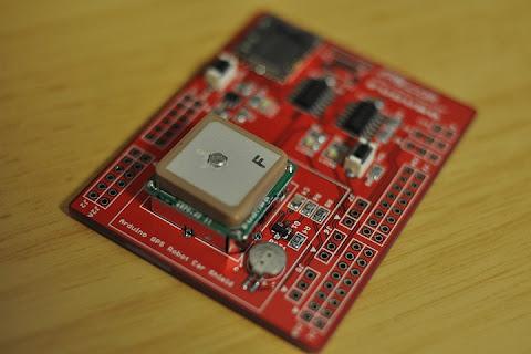 GPS受信機シールド