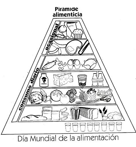 PIRAMIDES DE CIENCIAS NATURALES PARA IMPRIMIR Y COLOREAR