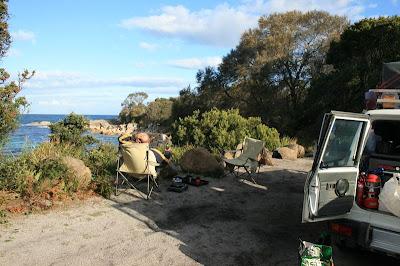 Bay of Fires Camping Tasmania Australia