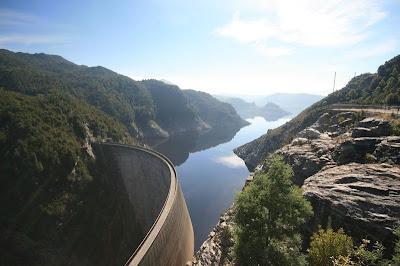 Gordon Dam Strathgordon Tasmania Australia