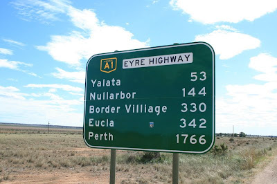 Nullabor Crossing South Western Australia