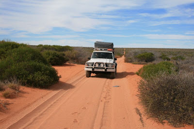 Francois Peron National Park Shark Bay World Heritage Site Western Australia 4x4