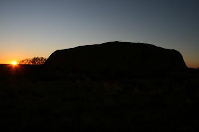 Uluru Sunrise Outback Australia