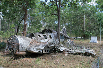 Crashed DC3 World War 2 Plane, Cape York, Australia